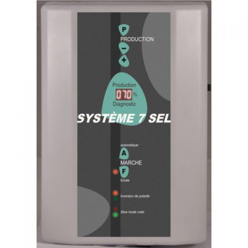 électrolyse au sel